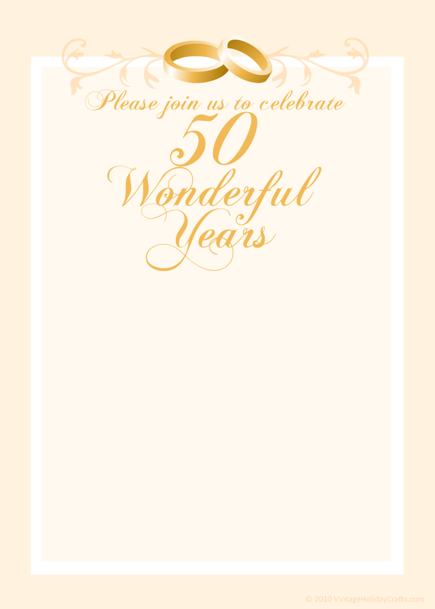 "Gold ""50 Wonderful Years"""