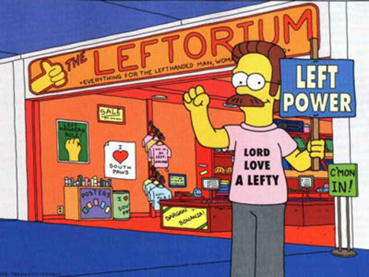 Left-Handed Myths And Facts