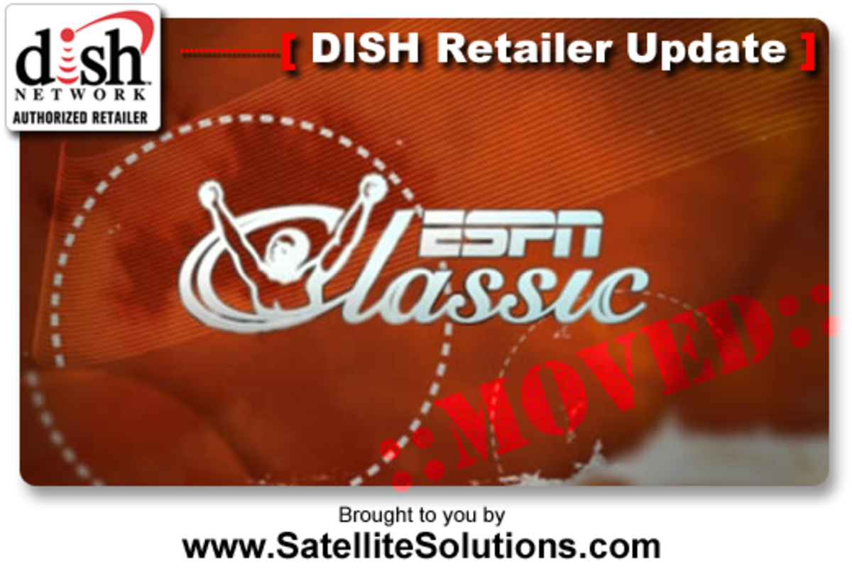 DISH Network Moves ESPN Classic channel from Top 200 to the Multi-Sports Pack