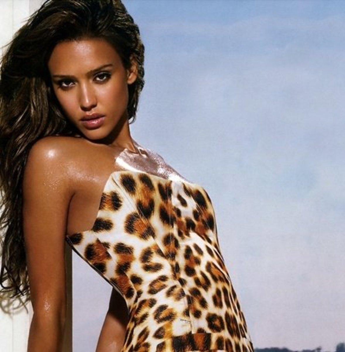 Jessica Alba..13% Indigenous American.