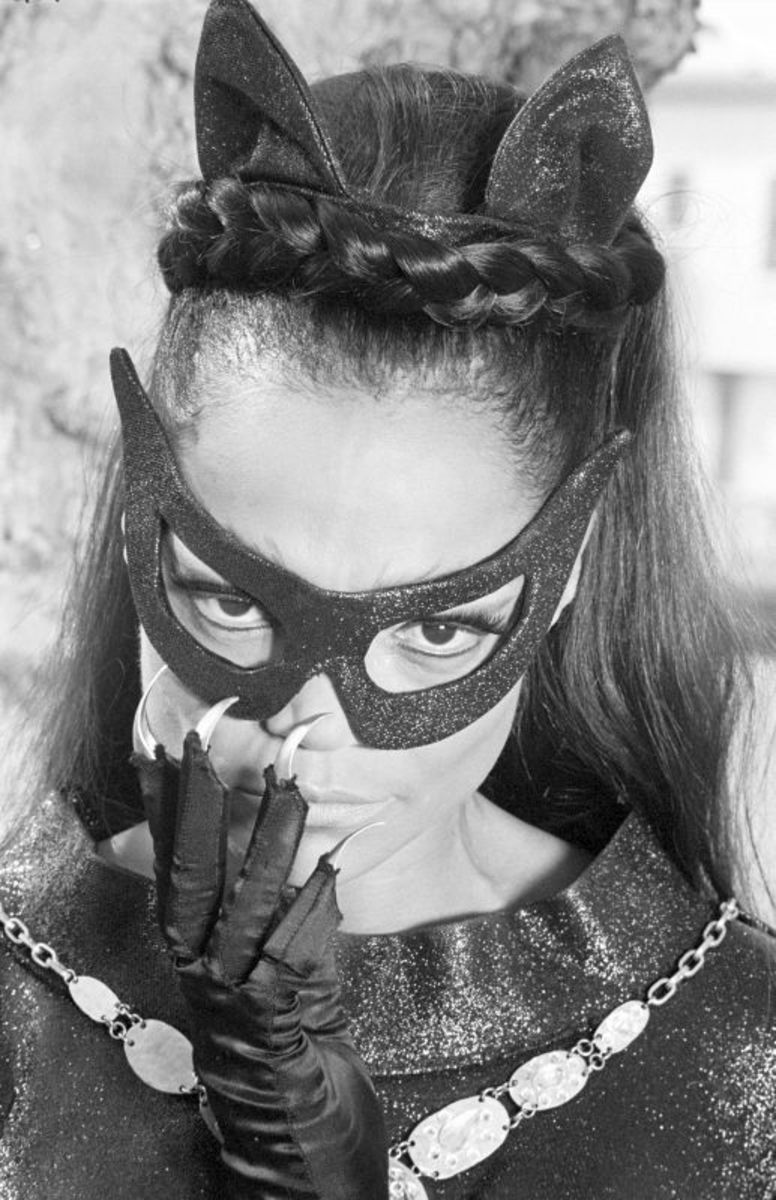 Eartha Kitt...okay you know I had to use the Batman pic!