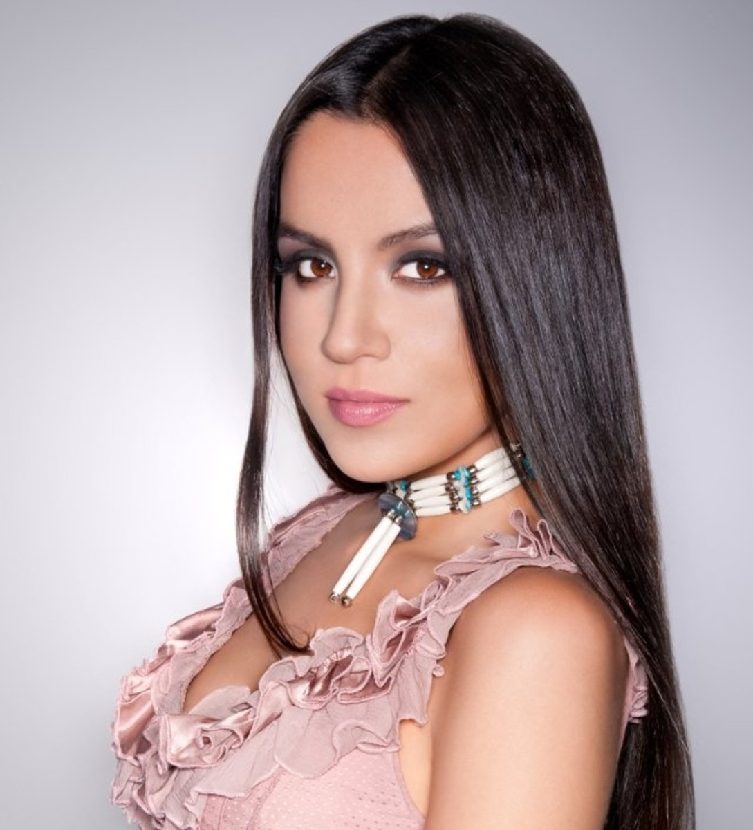 Model and actress Shannon Baker is Dakelh from the Stellat'en First Nation, British Columbia, Canada
