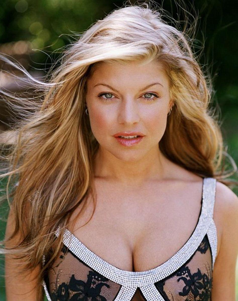 Fergie...Native American (?)