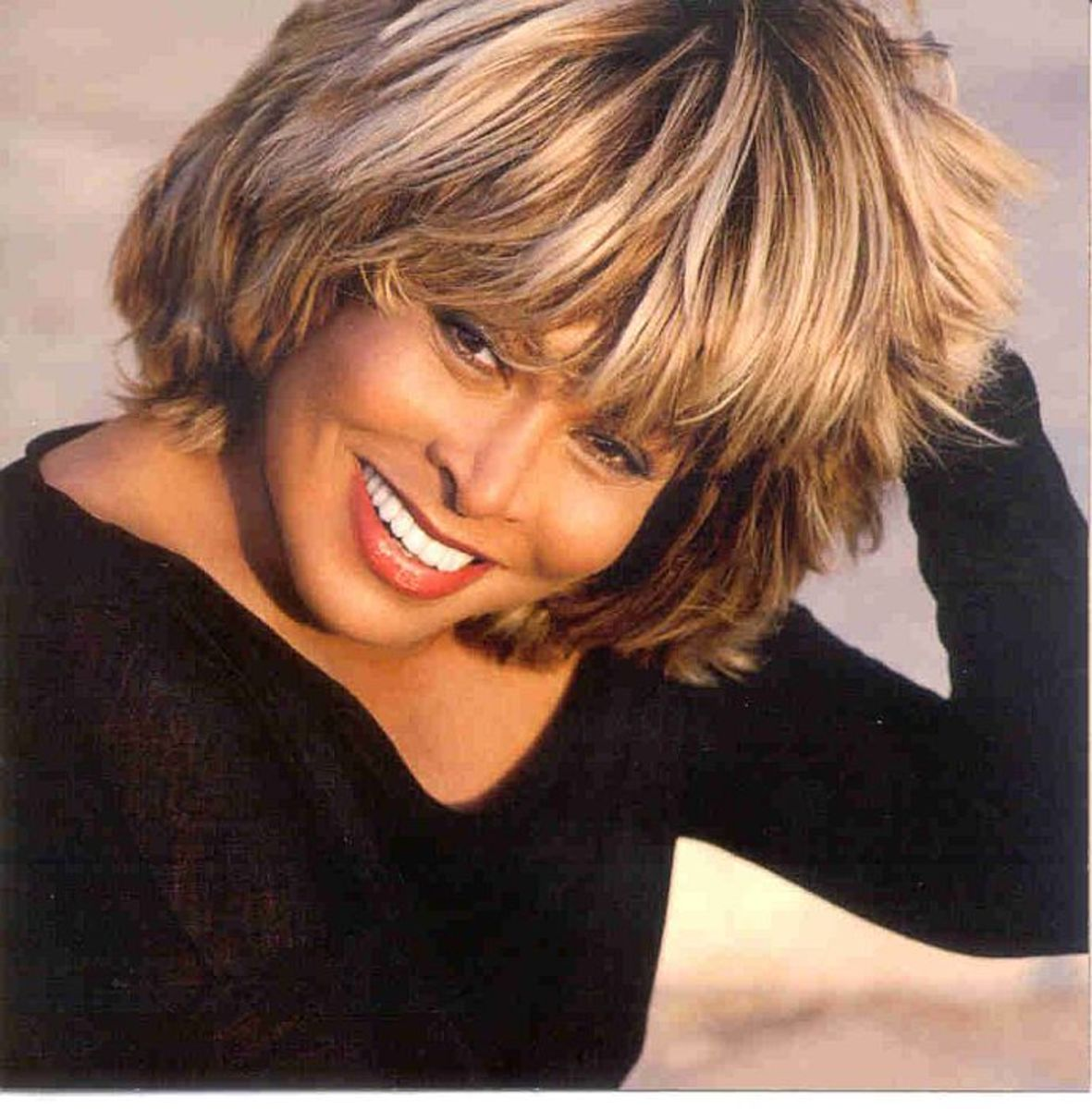 Tina Turner...just barely Native American