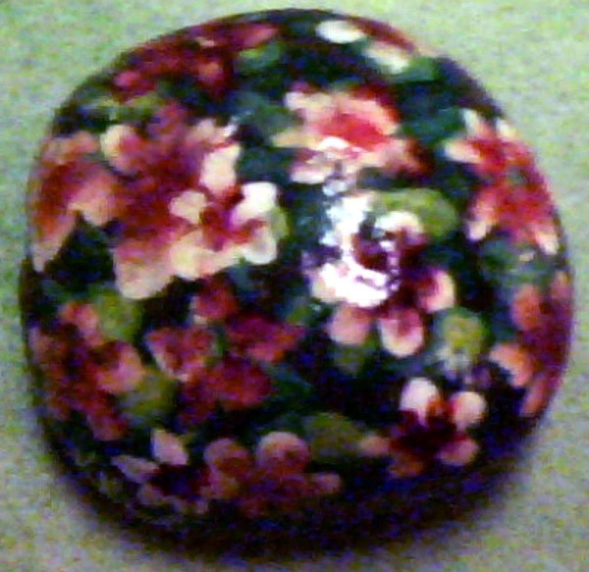 Decorative Painted Garden Rocks
