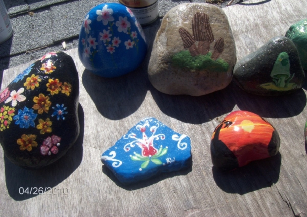 decorative-garden-rocks