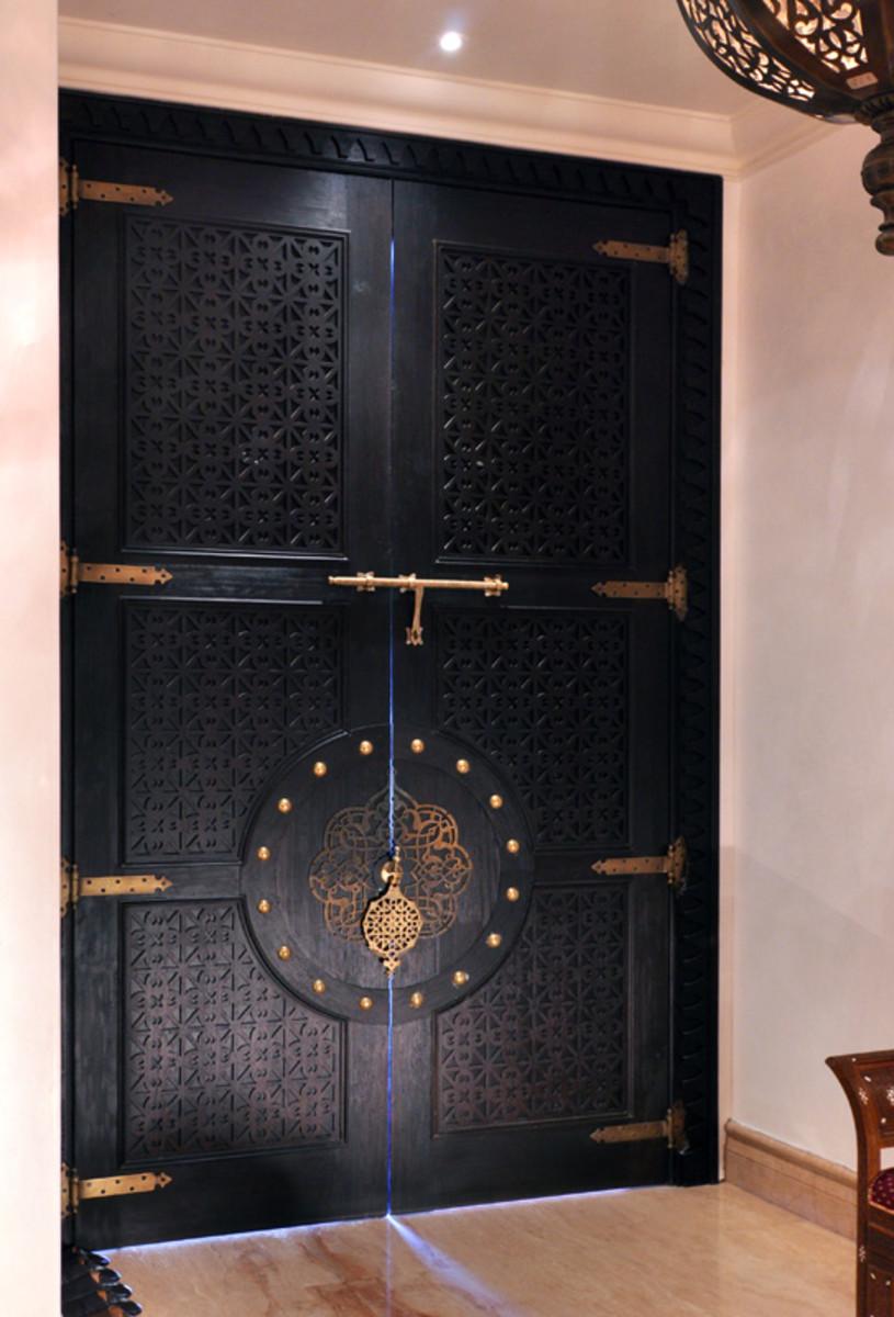 Ethnic door