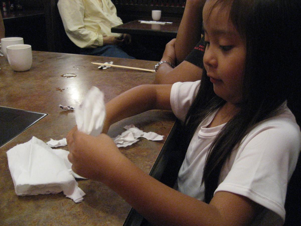 Paper-Cutting Storytelling