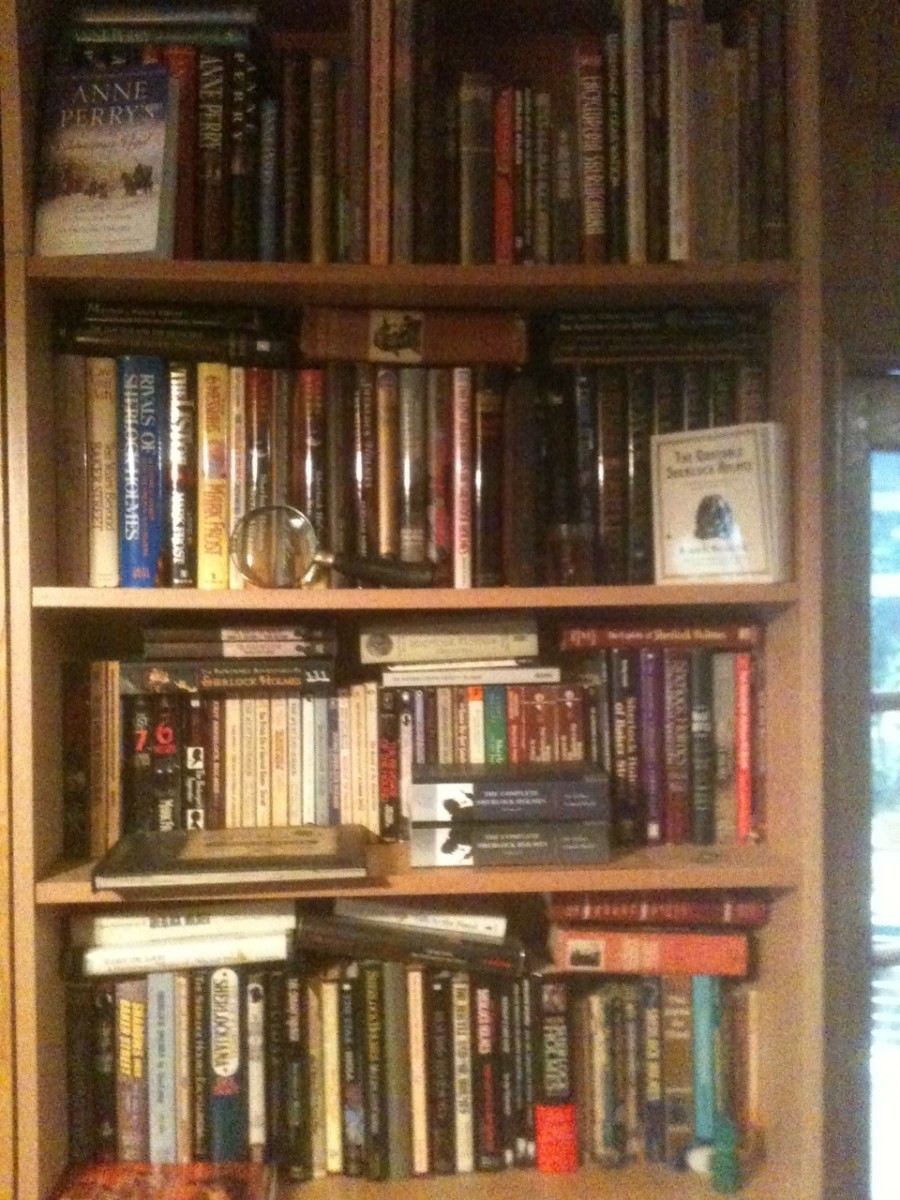 Our Holmes Book Collection