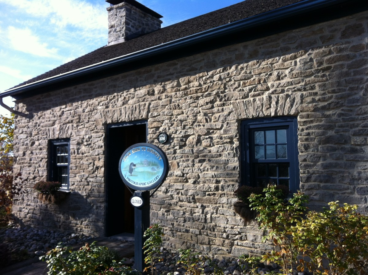 This home was originally the Merrick tavern and is one of the many historic stone homes in Merrickville.