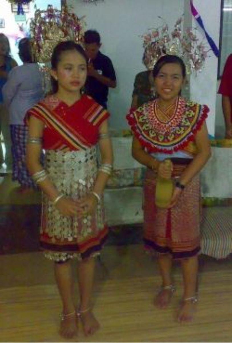 Iban girls on Hari Gawai