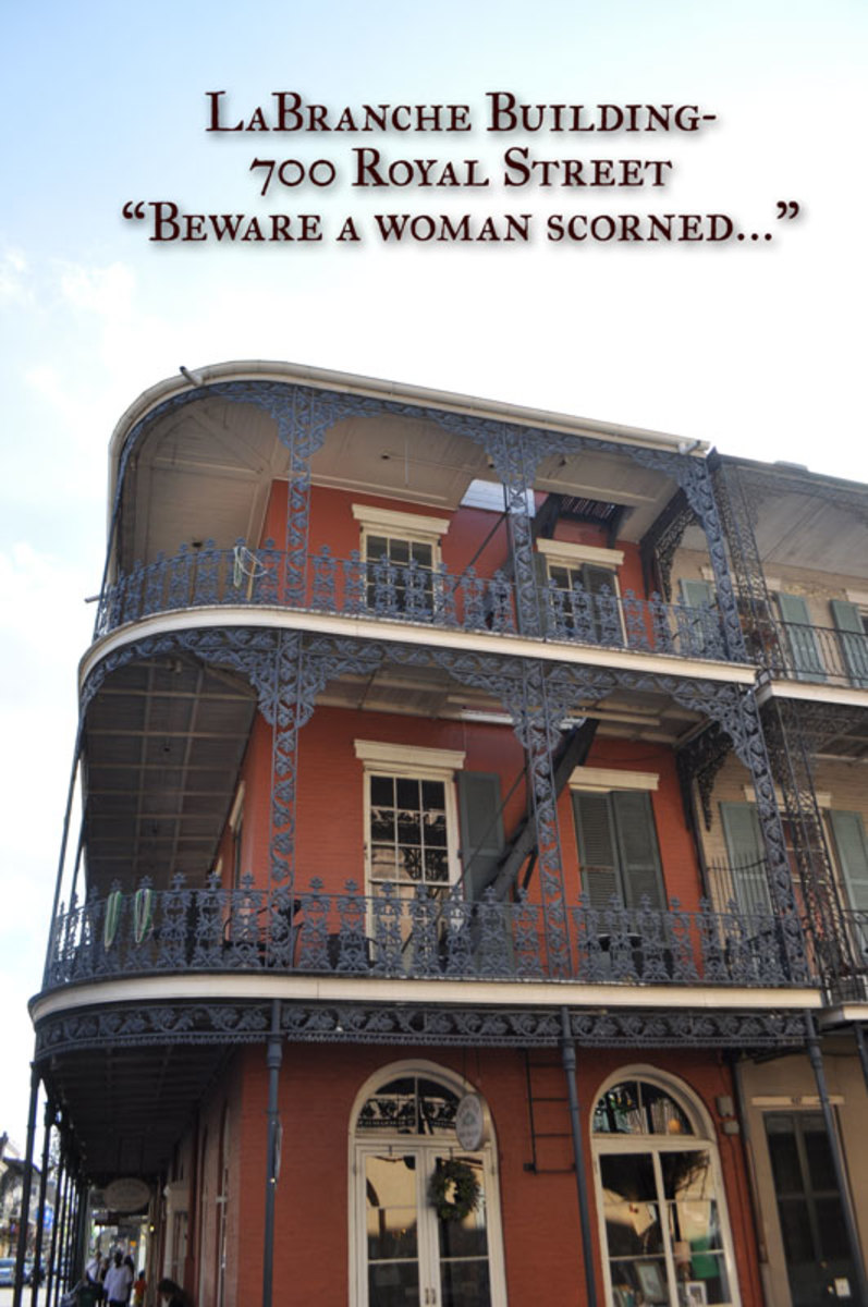 New Orleans Haunted Houses- LaBranche Building, 700 Royal Street