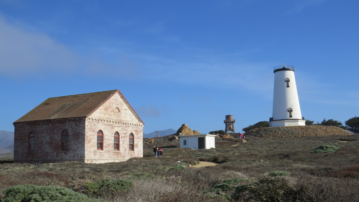 The Piedras Blancas Light Station Near San Simeon, CA