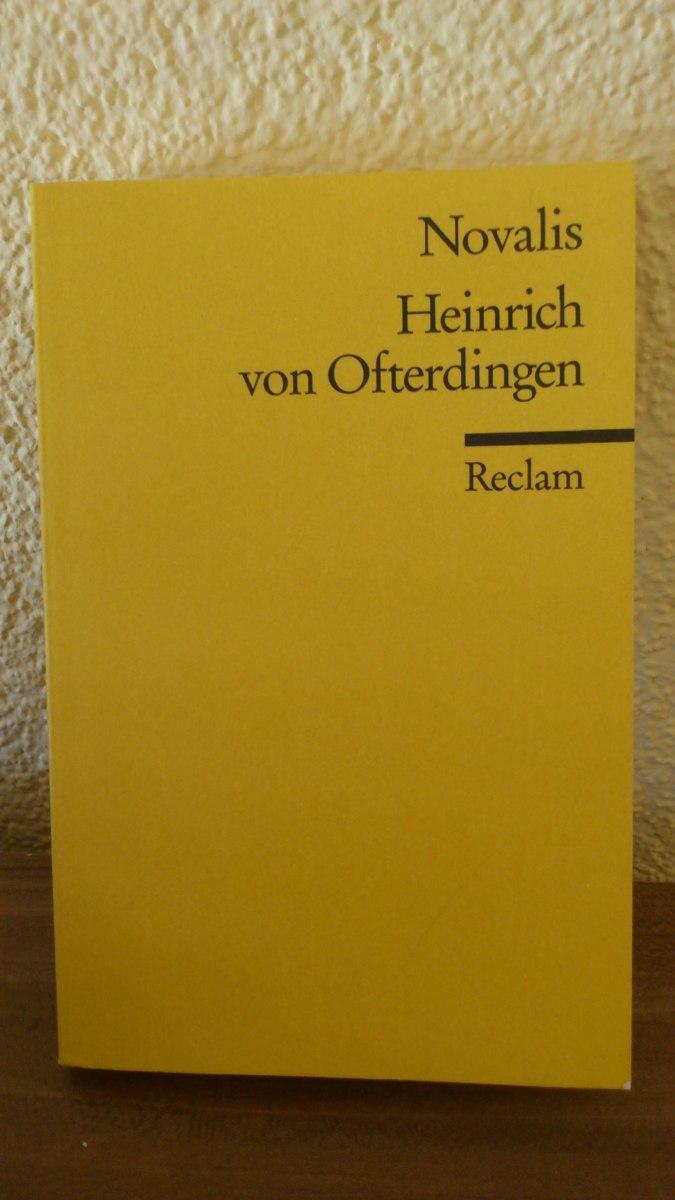 Summary Heinrich von Ofterdingen by Novalis
