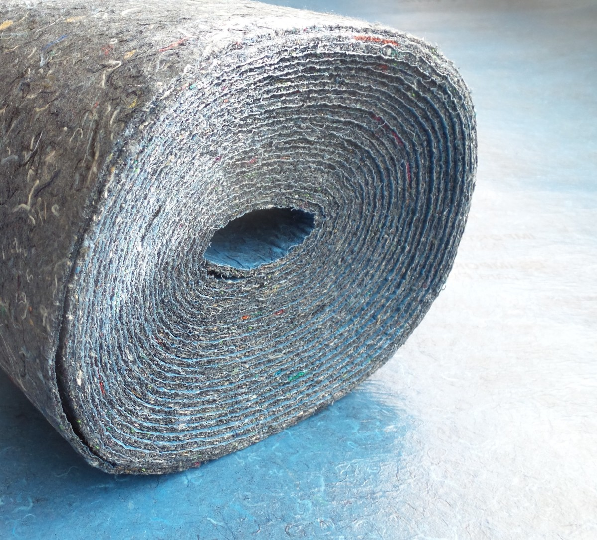 Underlayment padding can make walking on your floors much more comfortable.