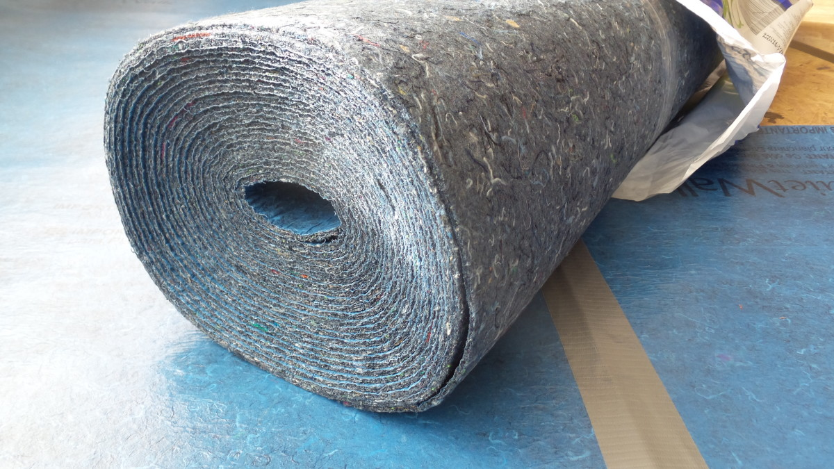 Underlayment needs to provide compression resistance.