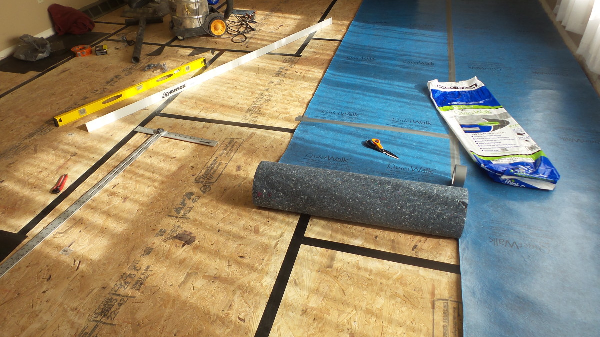 The Best Floating Floor Underlayment To Install Above