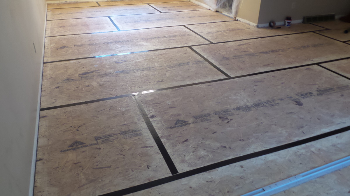 Apply high-quality underlayment above sublooring to deaden sound.