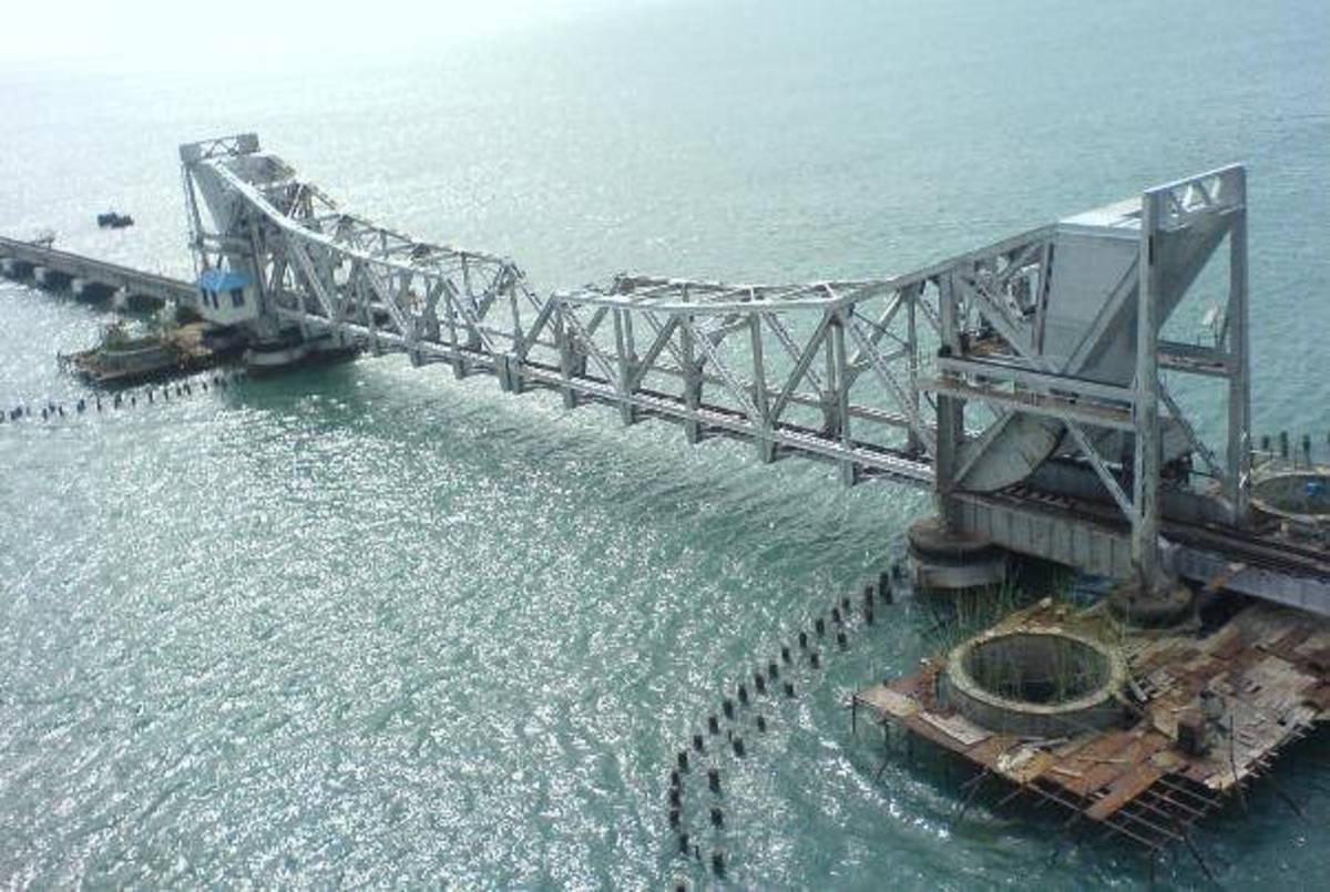 Pamban bridge, Rameswaram