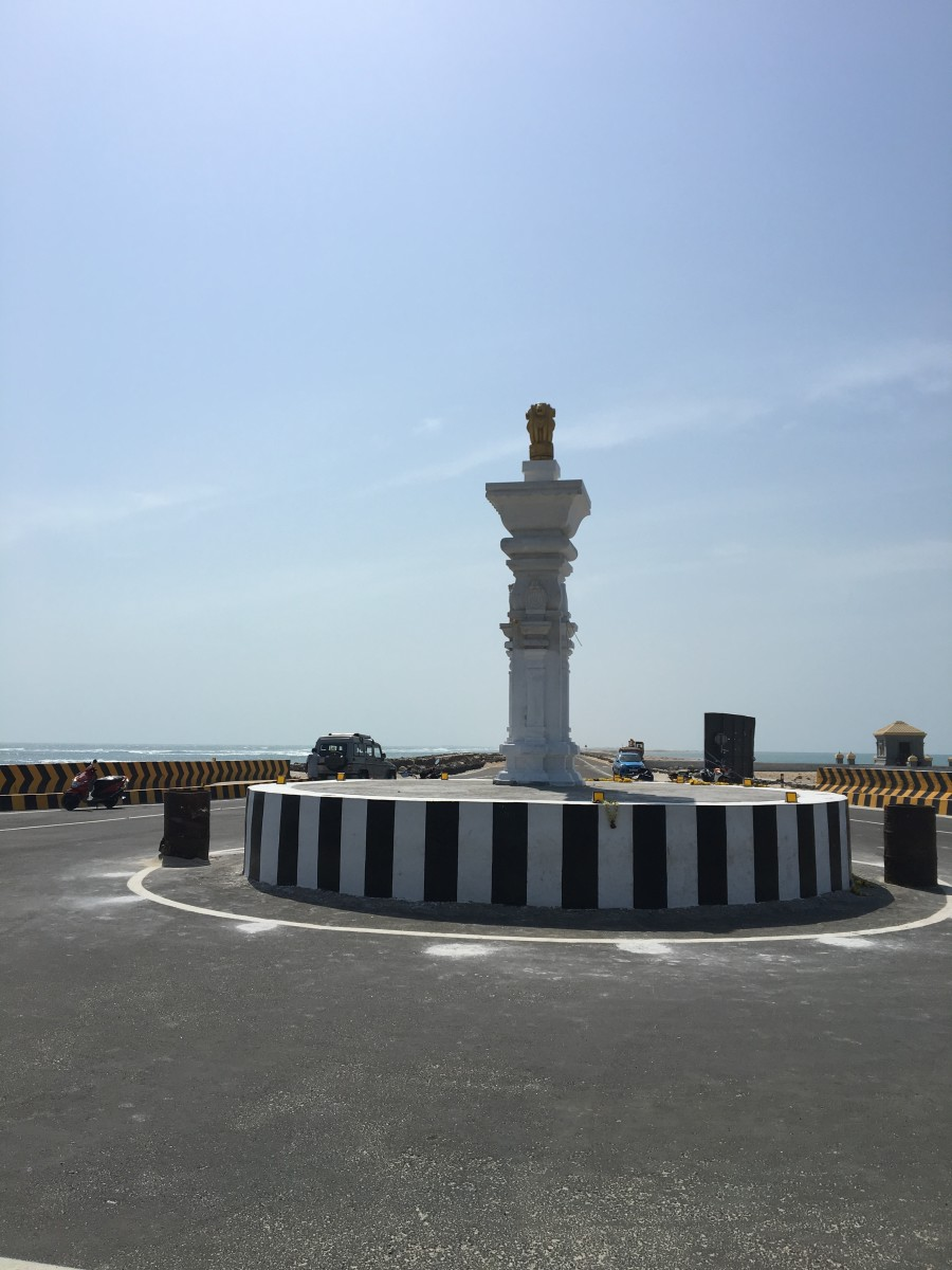 Dhanushkodi point