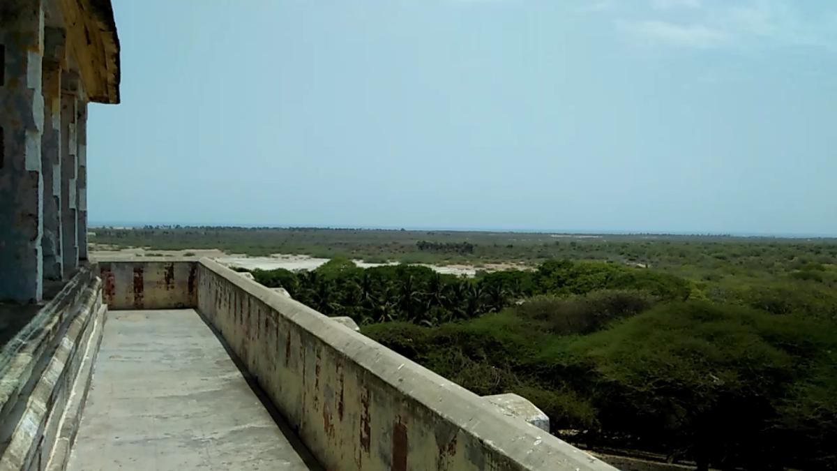 view from Ramar Padam temple