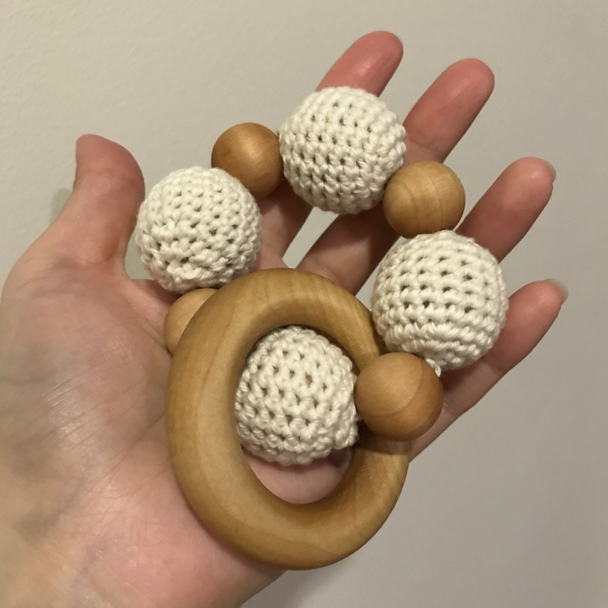 Wooden Bracelet Teething Ring