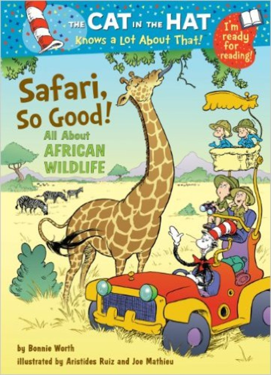 Safari, So Good!: All About African Wildlife (Cat in the Hat's Learning Library) by Bonnie Worth - Image is from amazon.com