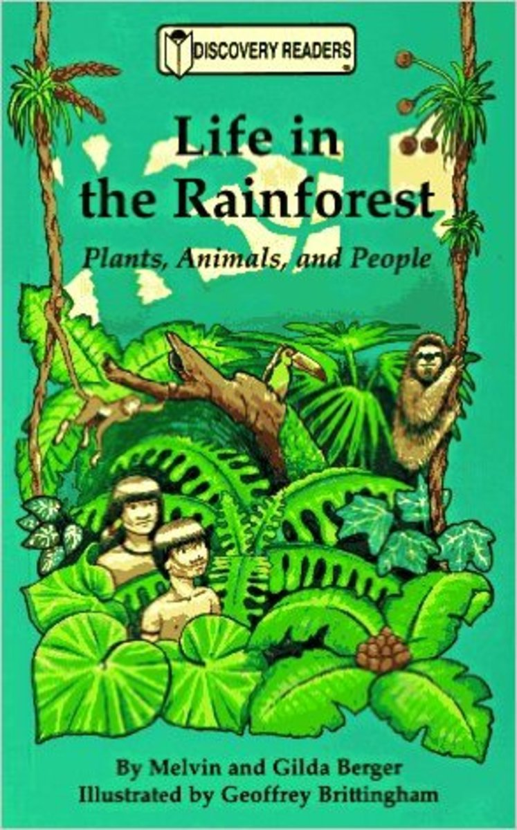 Life in the Rainforest: Plants, Animals, and People (Discovery Readers) by Melvin Berger