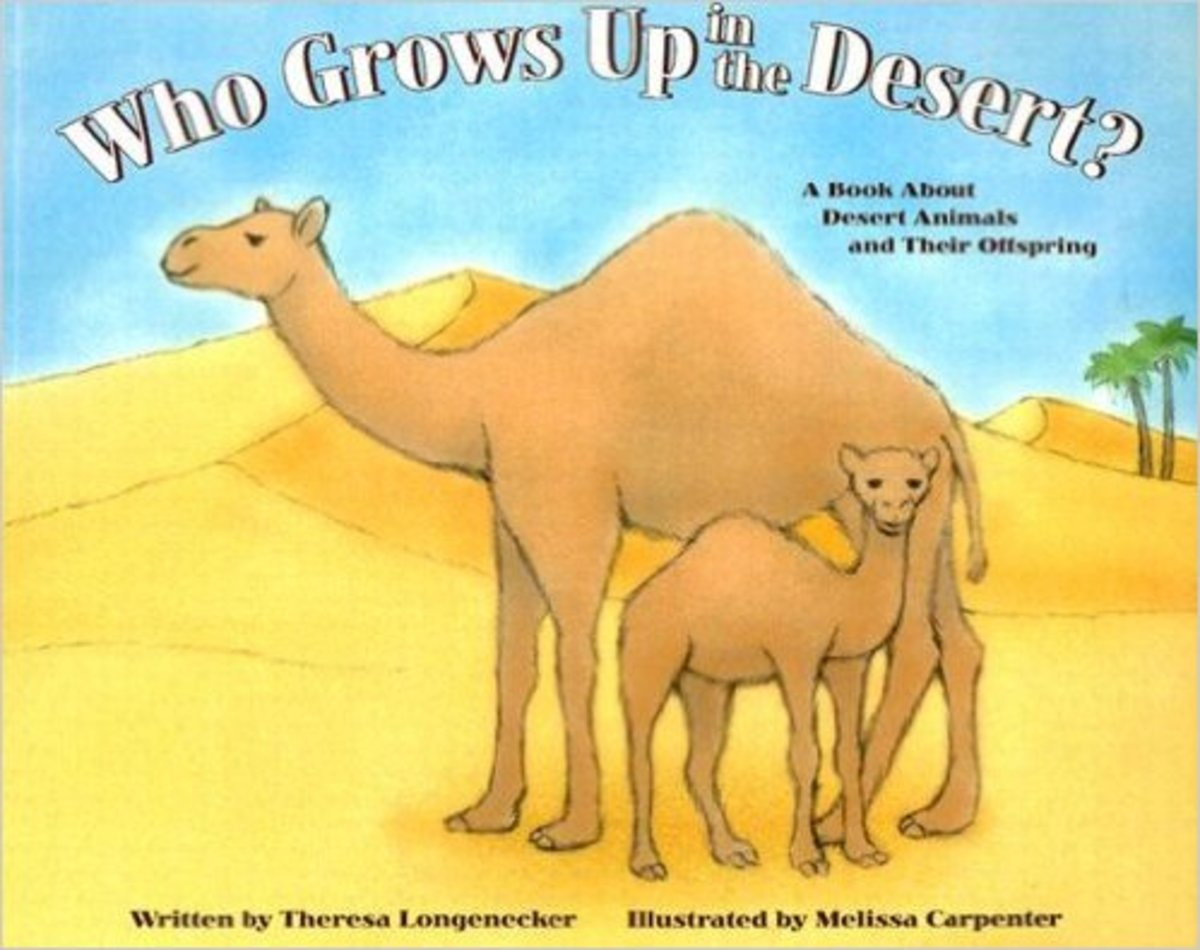 Who Grows Up in the Desert?: A Book About Desert Animals and Their Offspring (Who Grows Up Here?) by Theresa Longenecker