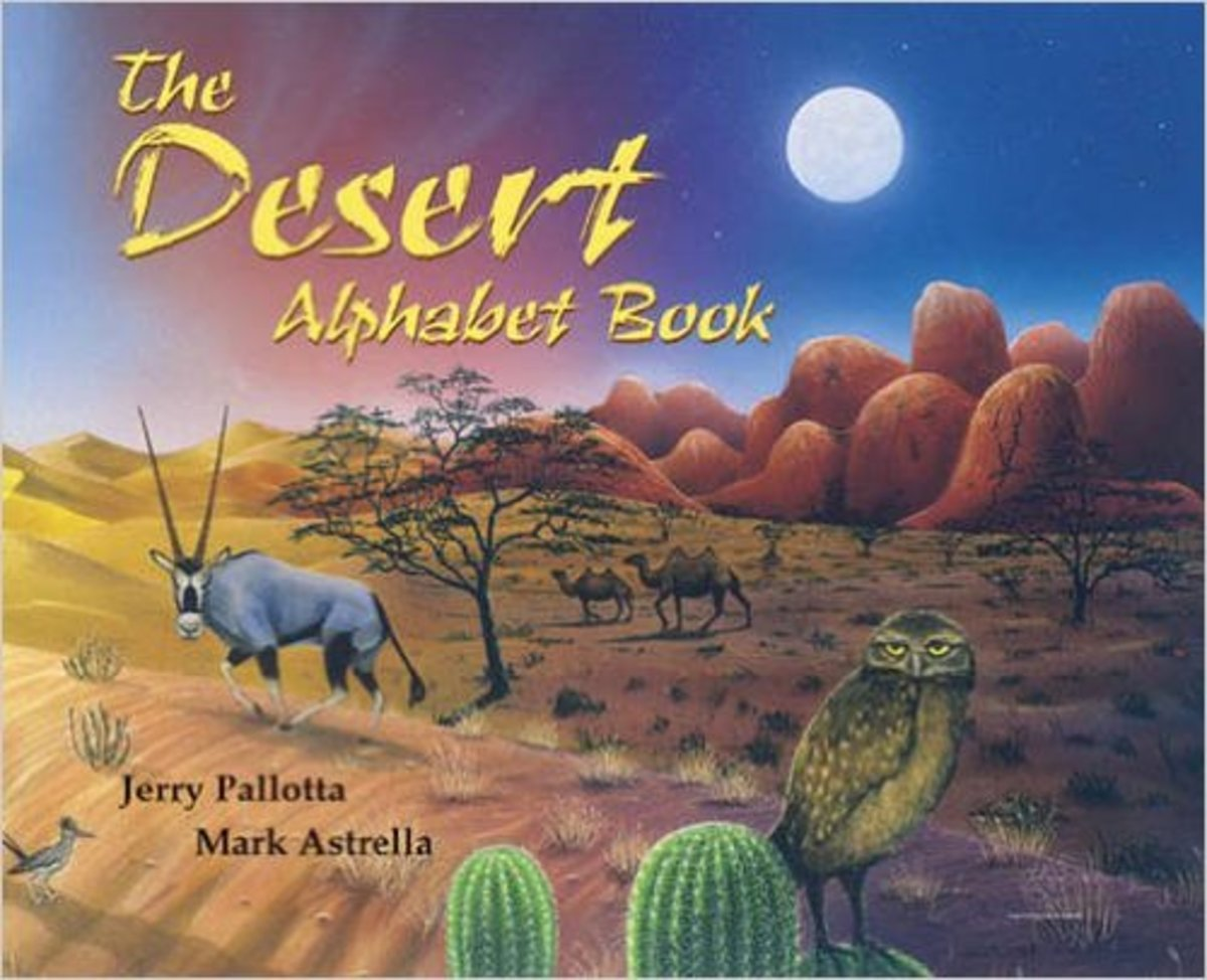 The Desert Alphabet Book (Jerry Pallotta's Alphabet Books) by Jerry Pallotta - Images are from amazon.com.