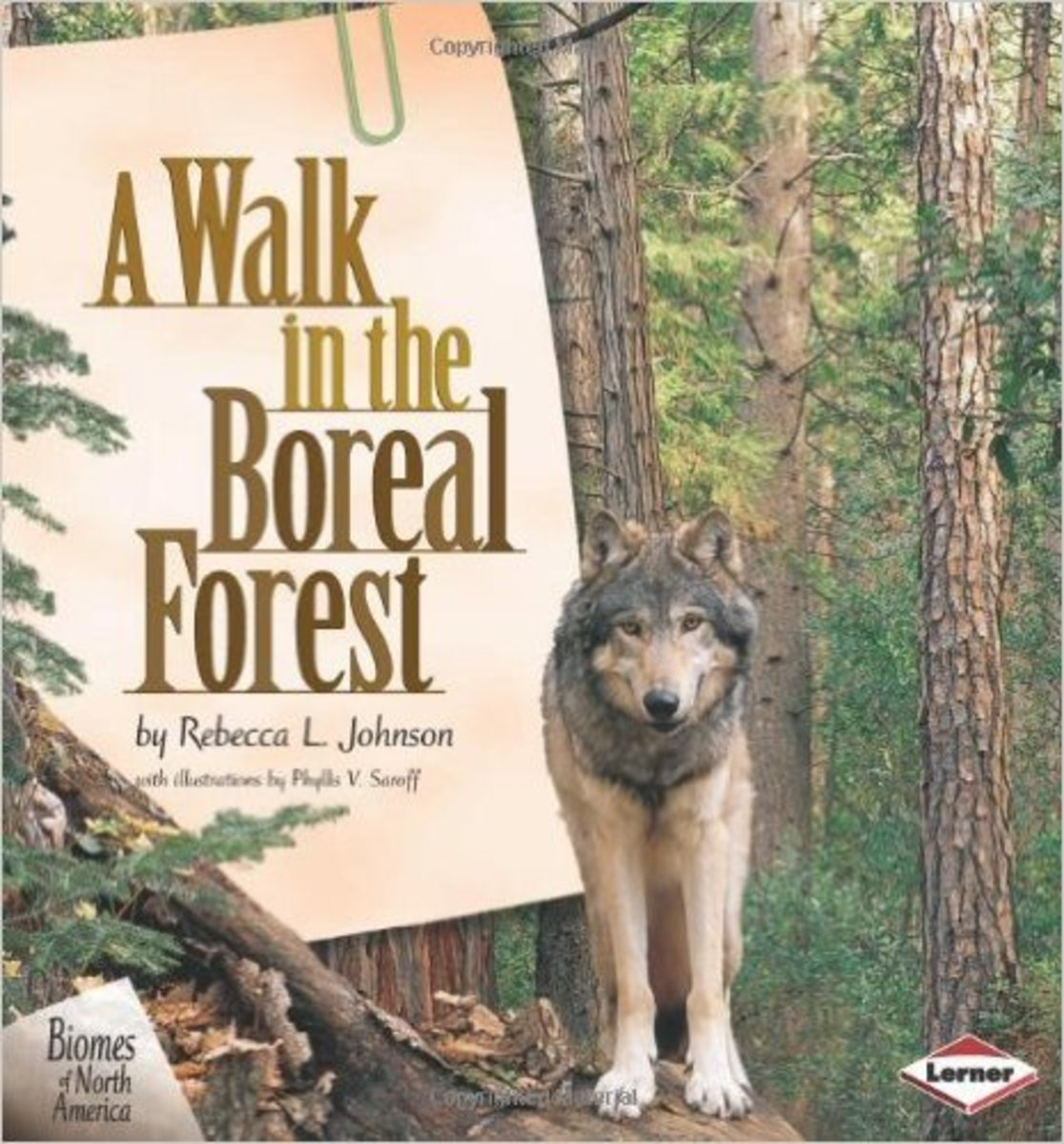 A Walk in the Boreal Forest (Biomes of North America) by Rebecca L. Johnson