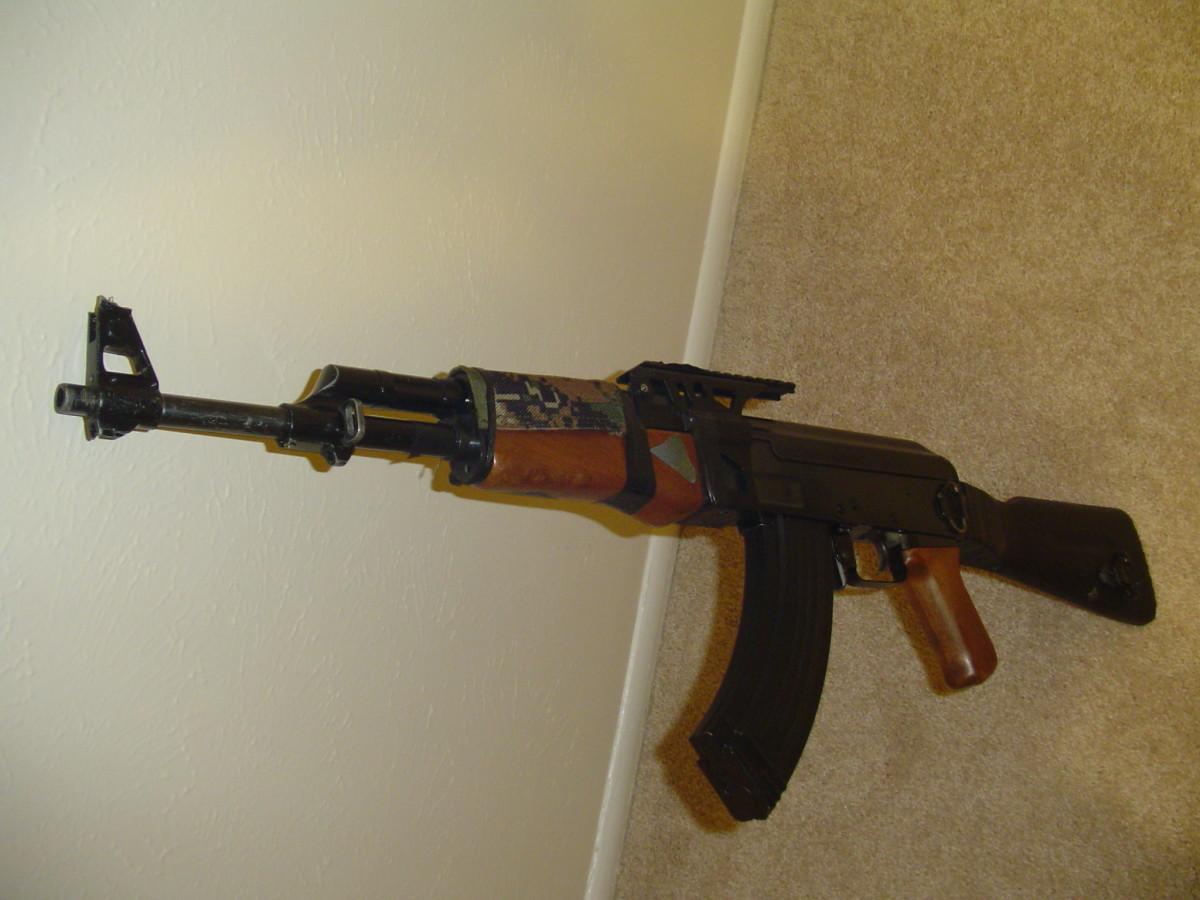 Airsoft AK 47 Cyma CM.028, a monster airsoft electric gun