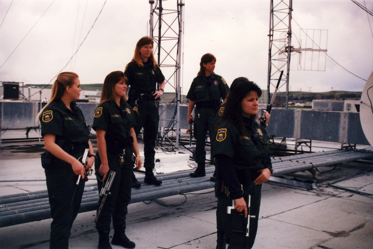 Some of the girls from a BCSO  team, years earlier.    copy right 2010