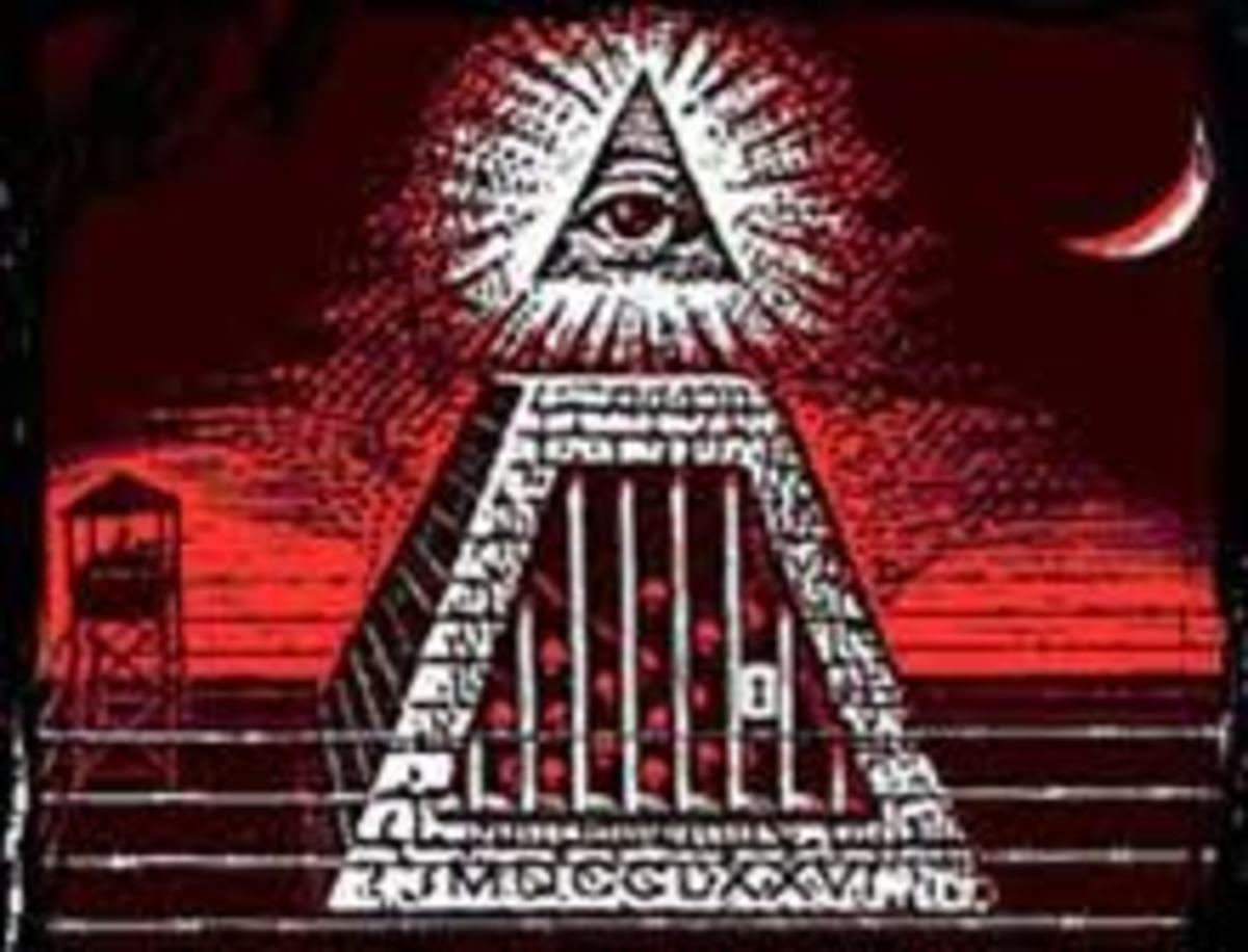 "The ""All Seeing Eye"". the Eye of Horus, An important symbol to many secret societies."
