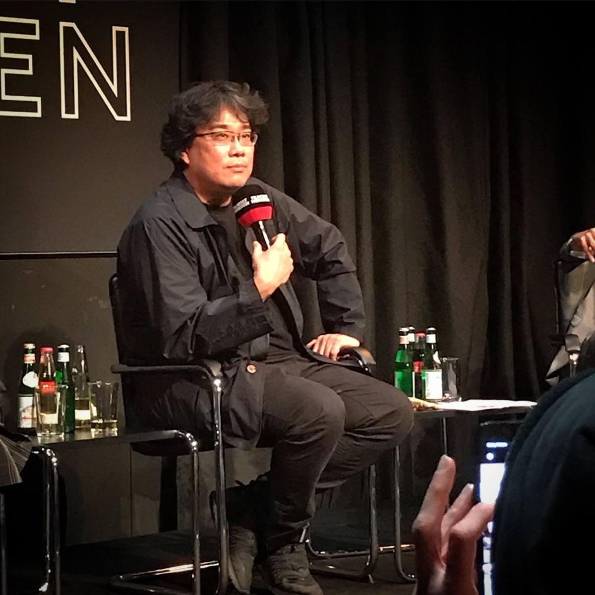 Director Bong Joon-ho in an interview.