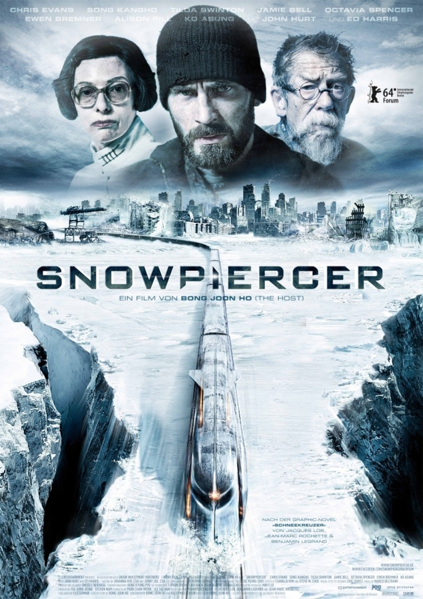 Snowpiercer's movie cover.