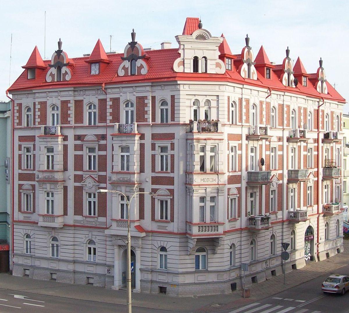Ginzburg House in Białystok, Poland