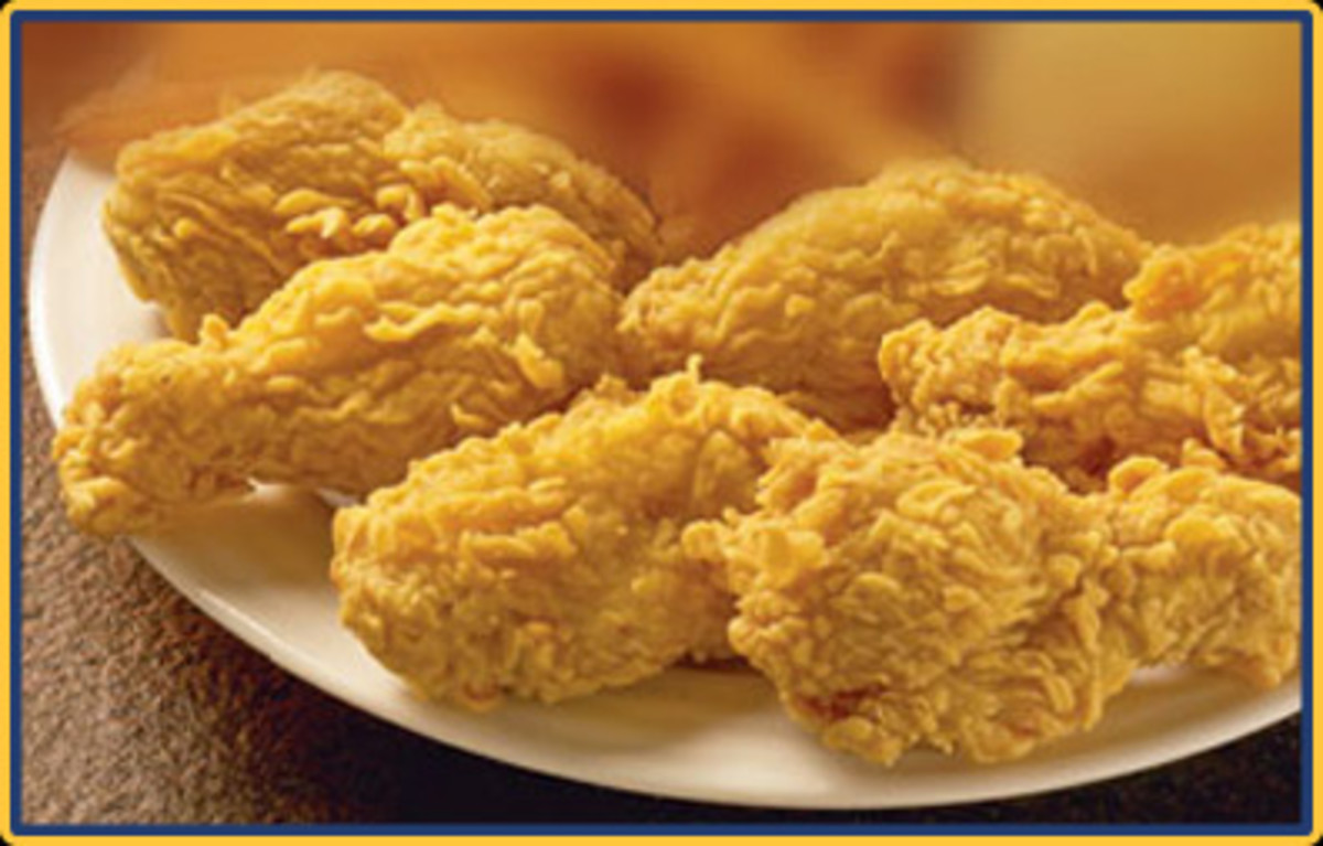 I confess all my life I have had a love affair with fried chicken.