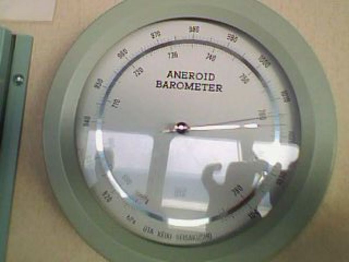 SHIP'S BRIDGE EQUIPMENT - THE BAROMETER