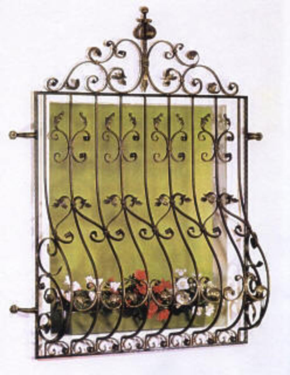 ornate window reja