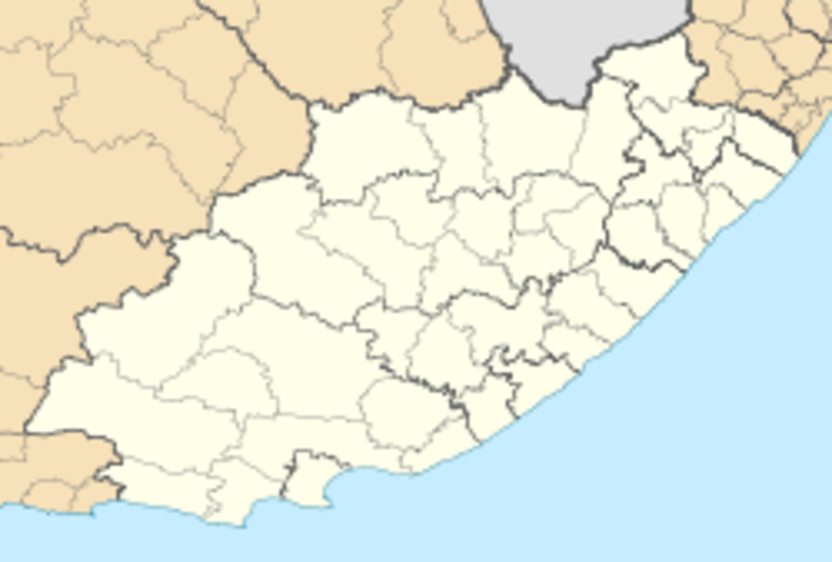 photo credit: wikipedia.com  Hankey, South Africa