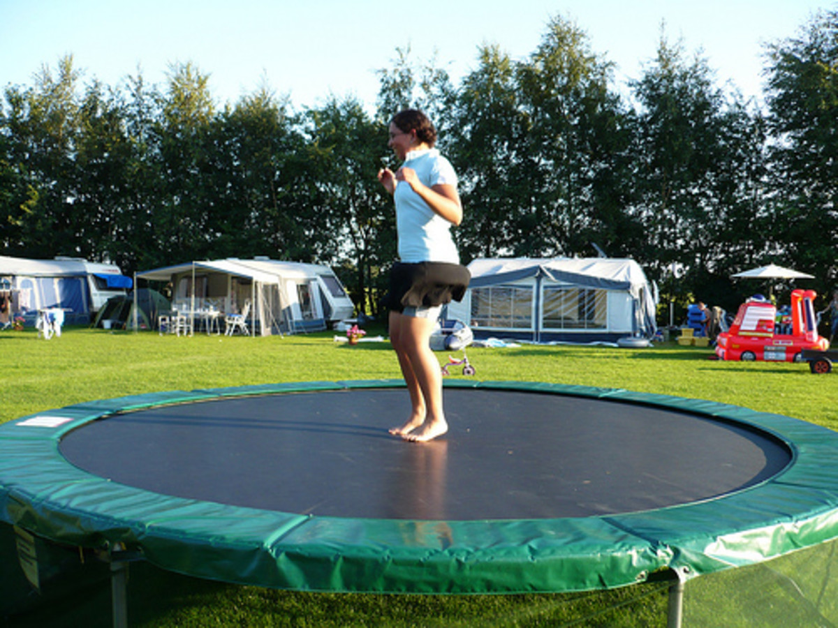 Trampolines and balance beams