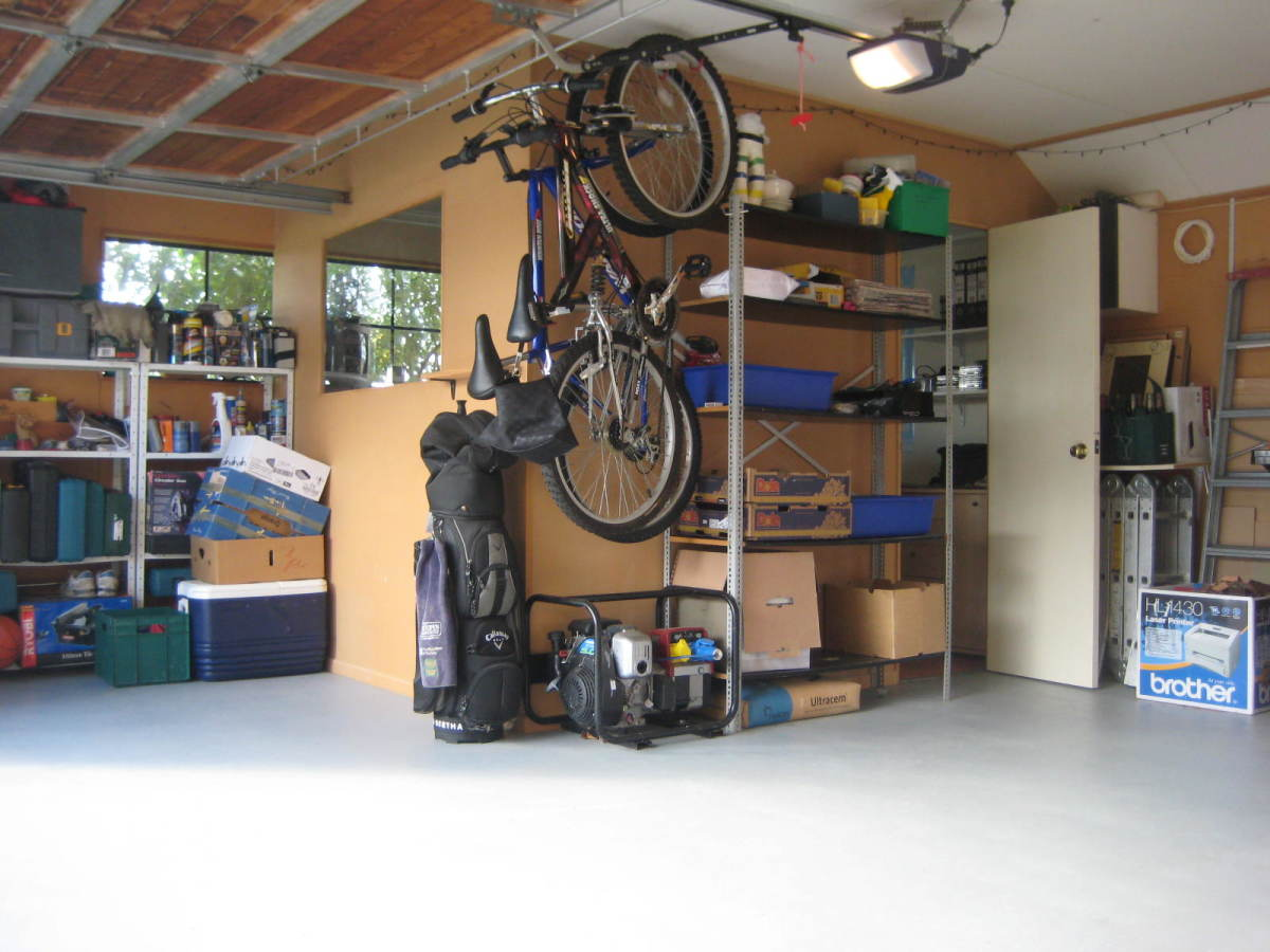 how to build a diy office in your garage for under 500