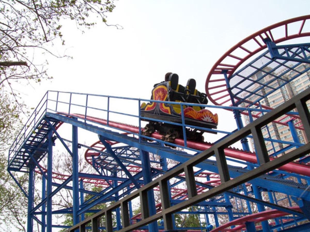 Roller Coaster: a Poem