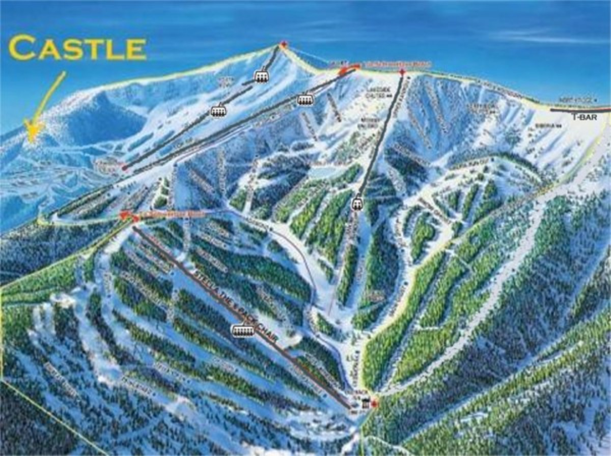 Map of slopes surrounding Idaho Castle (Kataryna).