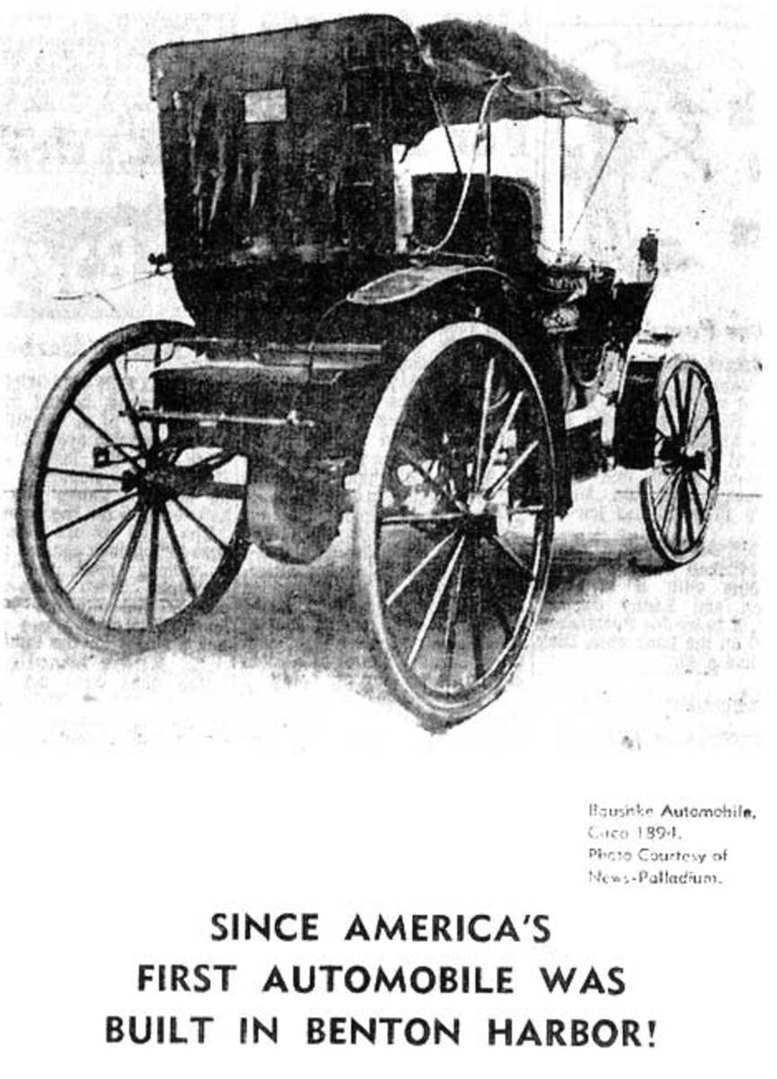FUTURE MEMBERS OF THE HOUSE OF DAVID BUILT THE FIRST AUTOMOBILE
