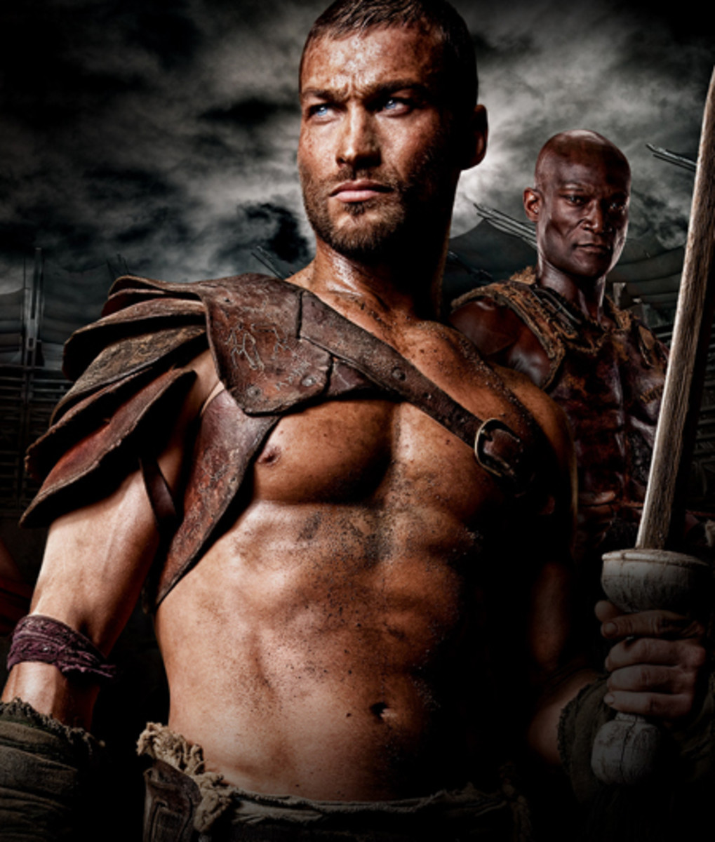 Andy Whitfield, the star of Spartacus: Blood and Sand