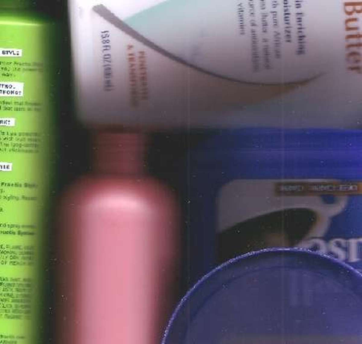 Lotions, shampoo, cleaning supplies, all come in beautiful plastic containers perfect for upcycling into jewelry.