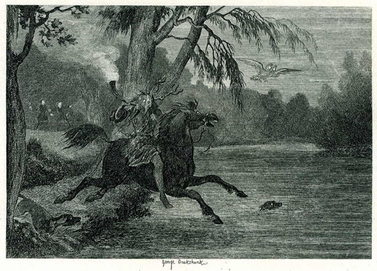 Herne the Hunter by George Cruikshank