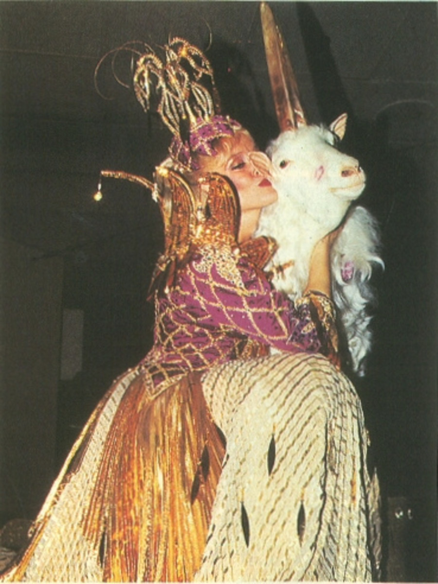 Unicorn goat